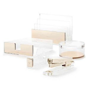 Kate Spade Acrylic Desk Accessories